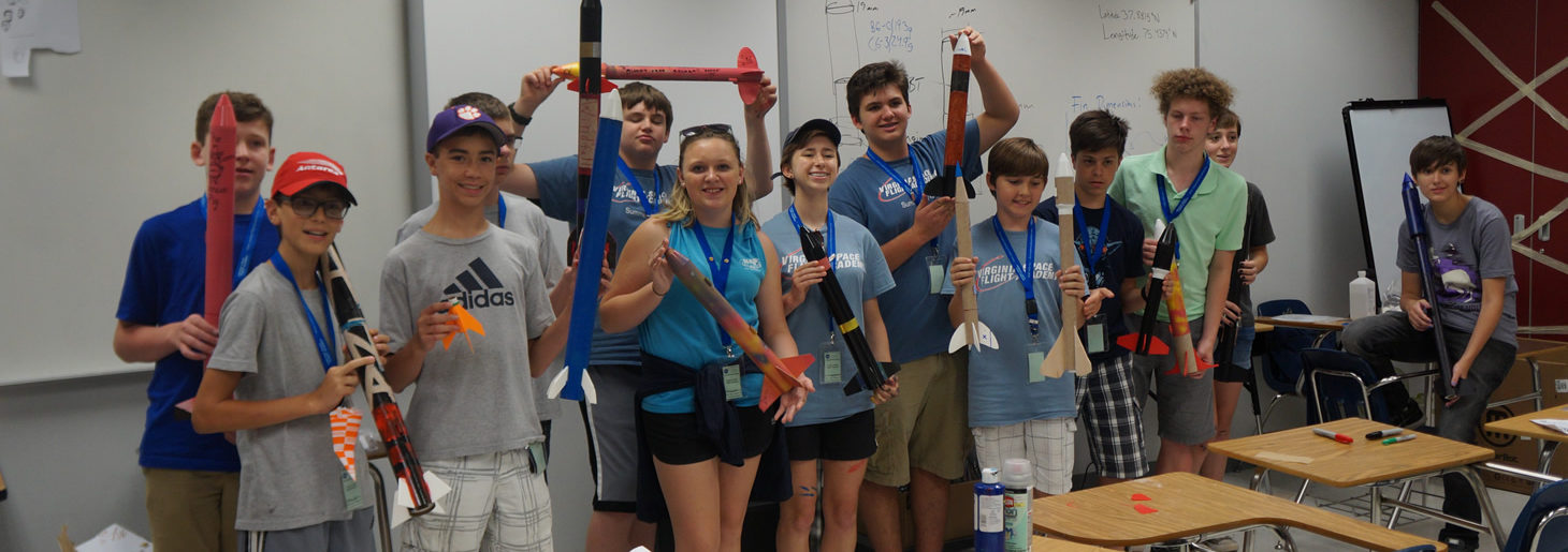 Image: VA Space Flight Academy Rocketry Camp