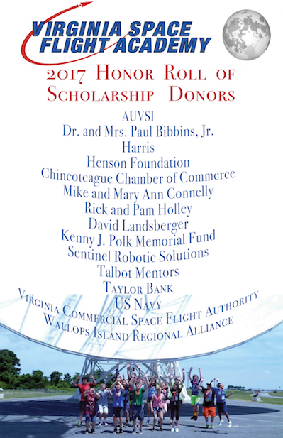 Image:  2017 Scholarship Donors