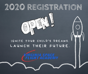 2020 VA Space Camp Registration is Open