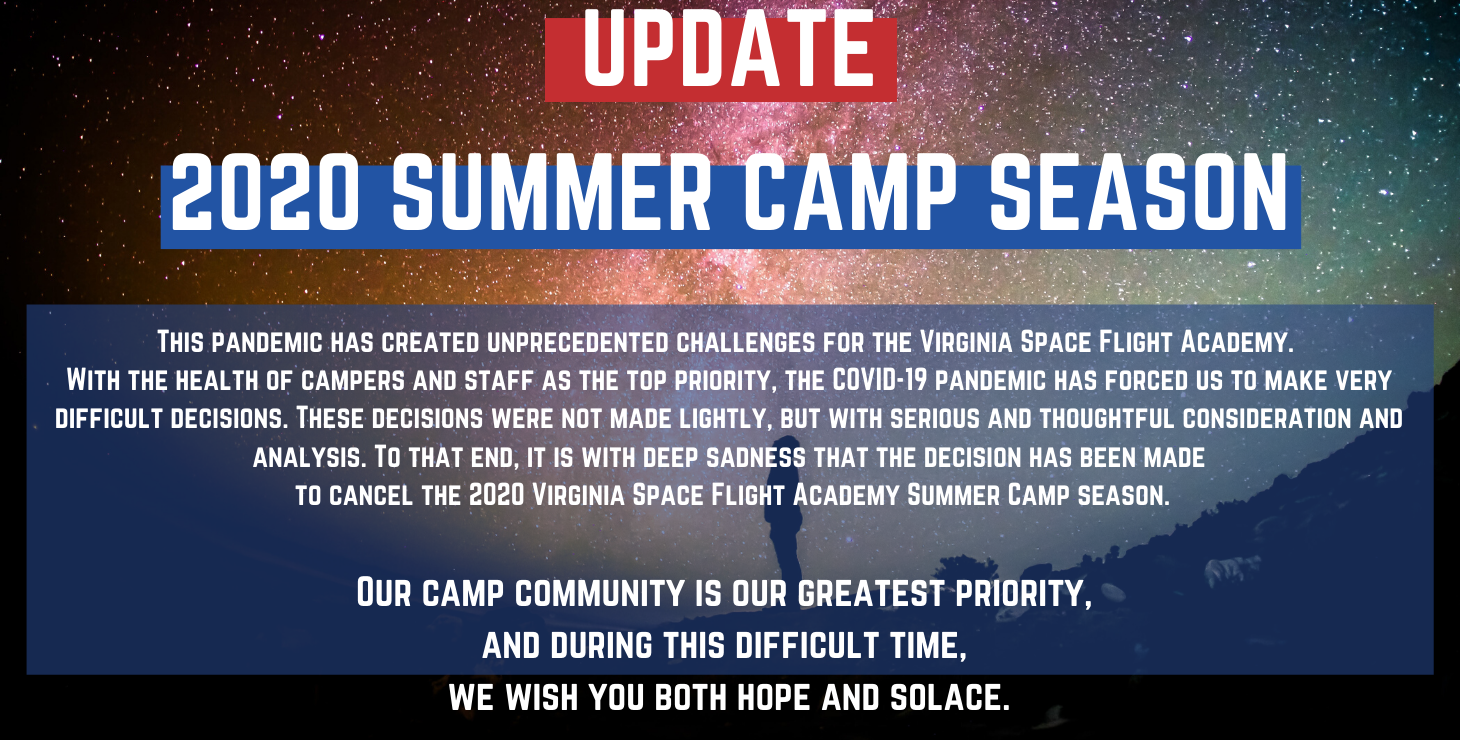 Image: 2020 Camp Cancellation