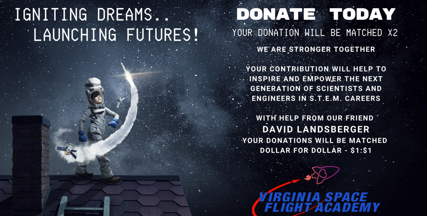 image: VA Space Flight Academy Donate Today